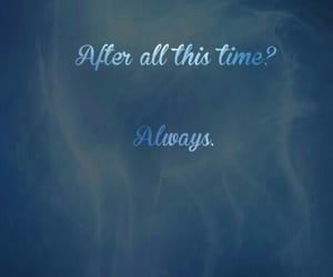always, severus snape, and harry potter image