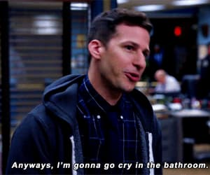 funny, gif, and brooklyn nine nine image