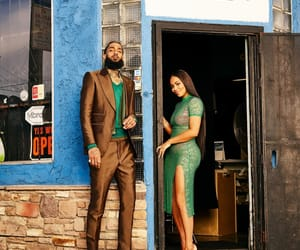 couple, photoshoot, and nipseyhussle image