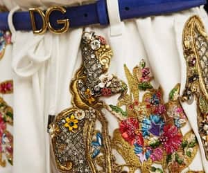 D&G, dolce&gabbana, and embroided image