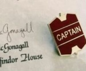 captain, quidditch, and gryffindor image