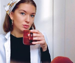 danish, fashion, and head scarf image