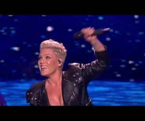 P!nk and video image