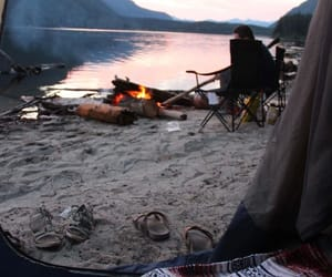 summer, friends, and firecamp image