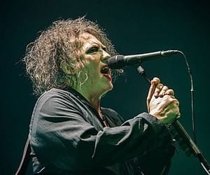 goth, robert smith, and music image