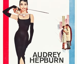 audrey, glamour, and old hollywood image