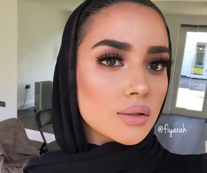 make up makeup, islam muslim girls, and baddie baddies image