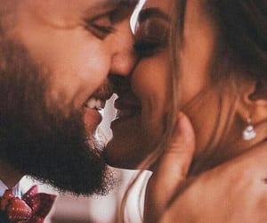 couple, happy, and romantic image