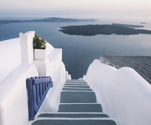 Greece, photography, and santorini image