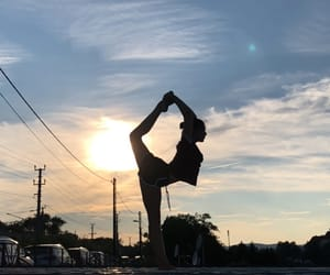 fitness, gymnastics, and stretching image