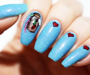 8-bit, nail art, and nails image