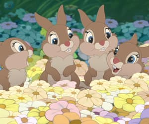 disney, bambi, and bunny image
