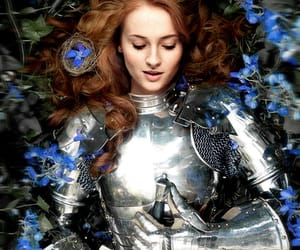 game of thrones, a song of ice and fire, and sansa stark image