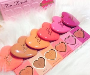 blush, hearts, and pretty image