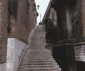art, italy, and stairs image