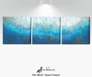 etsy, abstract art prints, and multi panel art image