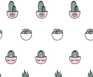 wallpaper, cactus, and cute image