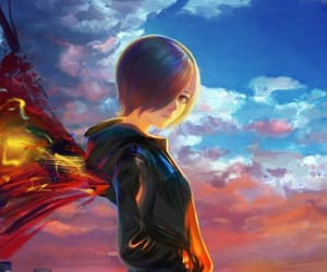 touka and tokyo ghoul image