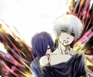 ken, kaneki, and touka image