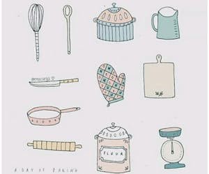 aesthetic, kitchen, and soft image