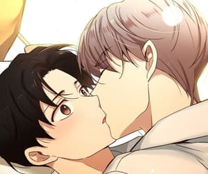 kiss, yaoi, and cute image
