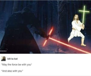 brilliant, star wars, and force image