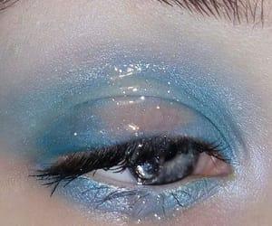 blue, aesthetic, and eyes image