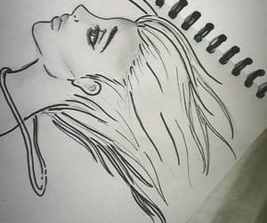art, fashion, and hair image