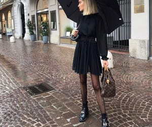 black, boots, and girl image