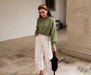 denim, sandals, and turbant image