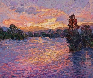 art, painting, and Erin Hanson image