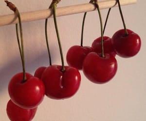 cherries, creative, and fruit image