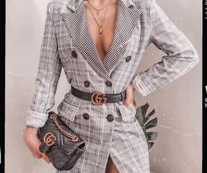 clothes, coat, and gucci image