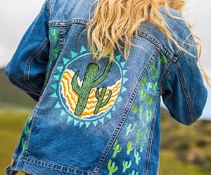 alternative, cactus, and denim image