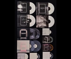 cds, vinyl, and the 1975 image