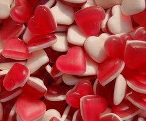 hearts, red, and stuff image