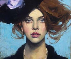 art, painting, and liepke image
