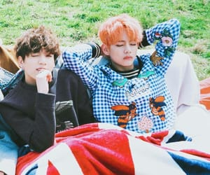 asian, love, and vkook image