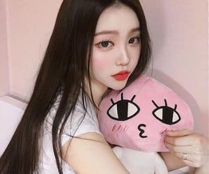 aesthetic, korean, and longhair image