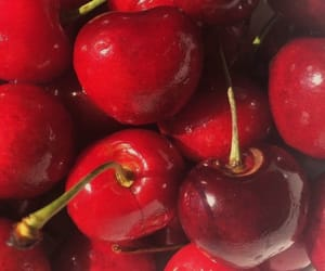 cherries, healthy, and fruit image