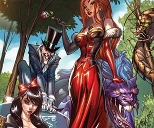 alice, alice in wonderland, and twisted disney image