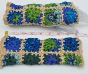 arm warmers, etsy, and crochet fingerless image