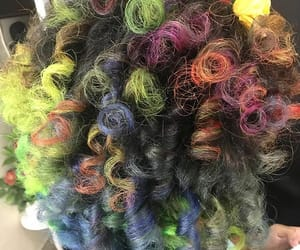 curl, tumblr, and dye image