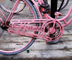 pink, bike, and hermes image