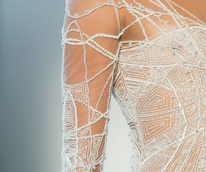 Couture, fashion, and pearls image