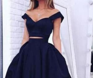 prom dresses, blue prom dresses, and cheap homecoming dresses image