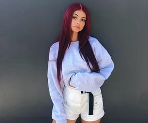 hair, model, and outfits image