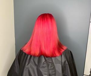 dye, hair, and dyed hair image