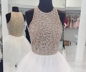 prom dresses white, prom dresses, and homecoming dresses image