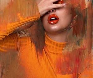 orange, peachy, and theme image